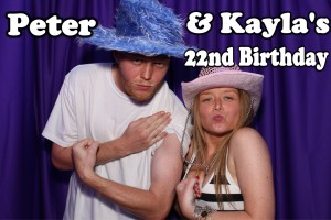 Kayla & Peter's 22nd