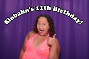 Siobhan's 11th Birthday